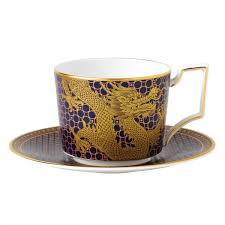 wedgwood imperial teacup and saucer blue dragon wedgwood uk