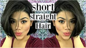 same haircut straight and curly short hair style curly to straight bob hair youtube