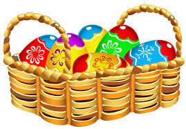 square basket with easter eggs png clipart gallery yopriceville