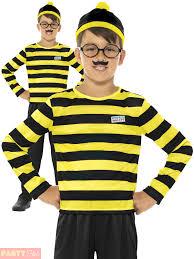 childs where u0027s wally costume girls wenda fancy dress boys book