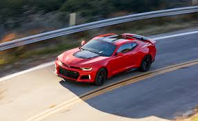 chevrolet camaro automatic 2017 chevrolet camaro zl1 test review car and driver