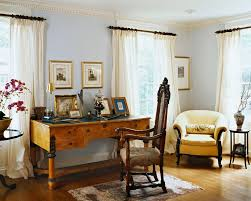 Desk Molding Wooden Curtain Rods Trend Newark Traditional Living Room
