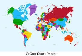 world map with countries name text world map country name typography design typography