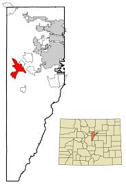 Colorado Mills Map by Evergreen Colorado Wikipedia