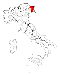 udine italy map file map province of udine svg wikimedia commons