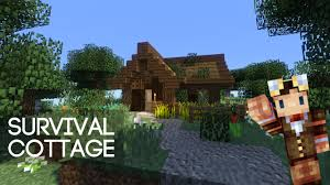 minecraft cute survival cottage youtube