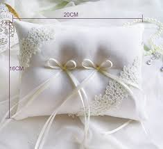 wedding ring pillow aliexpress buy handmade high quality wedding ring pillow