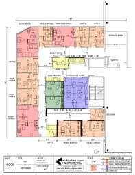 office layout plan for a g shaped office building officelayout