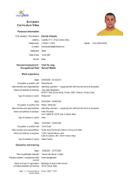 Sample Resume Format Basic by Resume Template Example Basic Sample Format Intended For Word