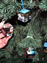 diy photo block ornaments craftycreativekathy