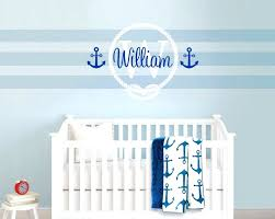 wall decals nursery boy buy nautical sailor themed wall stickers
