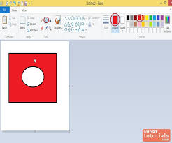 paint bucket tool fill with color in ms paint windows 8