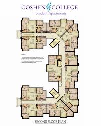 Apartment Blueprints Octavio Romero Student Apartments Campus Life Goshen College
