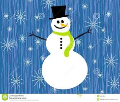 snowman and snowflake clipart clipartxtras