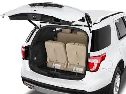 ford explorer trunk space 2017 ford explorer base seattle wa auto centers