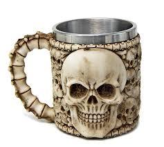 mugs cups glasses awesome skulls