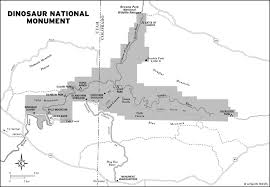 Colorado National Monument Map by Dinosaur National Monument Map U2022 Mappery