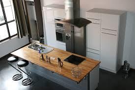fabriquer ilot central cuisine construire ilot central cuisine cuisine en image