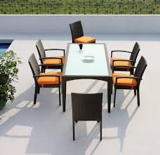 6 Chair Patio Set Chair Patio Table And Chairs For Small Spaces Outdoor Table And