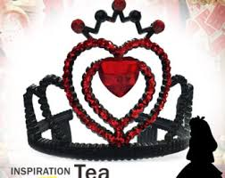 249 best images about tutu tiara tea party savvy s 1st queen heart costume etsy