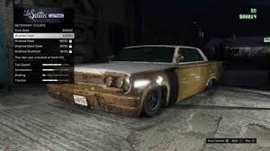 rusty car gta v online rusty voodoo cars youtube