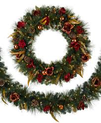 wreaths with lights lights decoration