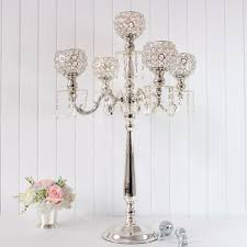 wedding candelabra centerpieces 76cm wedding candelabra wedding centerpiece 5 arms