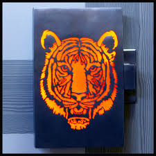 illuminated tiger door handle the latest in this collection of