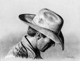 gallery pencil sketches of cowboys drawing art gallery