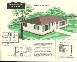 ranch style bungalow appealing 1950 bungalow house plans images best inspiration home