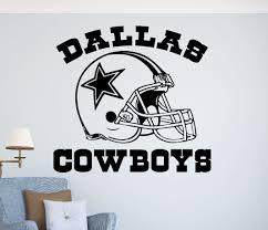 Dallas Cowboys Wall Decor Wall Decals U0026 Stickers Home Decor Home Furniture U0026 Diy