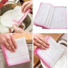 torchons et serviettes cuisine saingace à laver chiffons torchons chiffons serviette fiber de