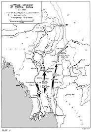 Irrawaddy River Map Hyperwar Us Army In Wwii Stillwell U0027s Mission To China Chapter 4