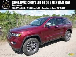 jeep grand cherokee limited 2017 red 2017 velvet red pearl jeep grand cherokee limited 4x4 120796529