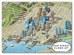 San Diego City Map by Jlrmaps Com Cities Map Portfolio