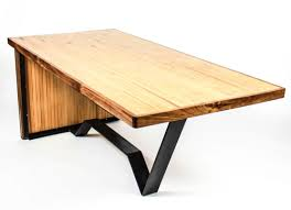 Reclaimed Bowling Alley Table  Custom Furniture And Leather - Custom furniture austin