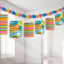 Hanging Party Decorations Summer Hanging Decorations Summer Party Supplies Woodies Party