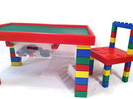 Children S Lego Table Children U0027s Table And Chair Lego Table Kids Table