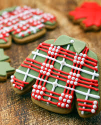sugar cookies with a sense of style christmas cookies plaid and