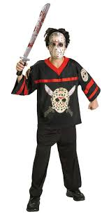 jason costume kids jason hockey jersey costume