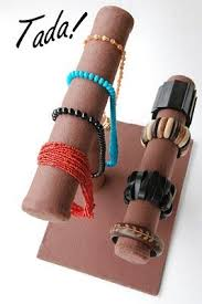 bracelet hand display images Craft fairs jewelry displays pinterest paper towel tubes jpg