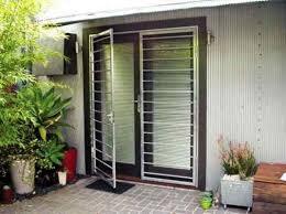 Metal Glass Door by Exterior Security Doors For Houses Wearefound Home Design