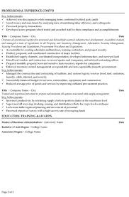 Supply Chain Management Resume Examples by Supply Chain Manager Resume Sample U0026 Template