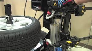 hofmann monty 8600 tire changer bead breaker operation youtube