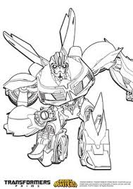 coloriage transformers prime beast hunters