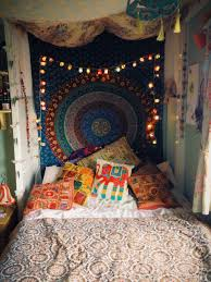 decor cool bedroom decorating idea with tapestries