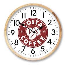 astonishing custom logo wall clocks 35 about remodel create logo