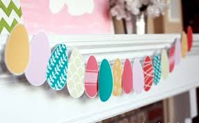 Easter Bunny Decoration Craft by Easter Decoration Crafts U2013 20 Ideas For Fresh Garlands For The