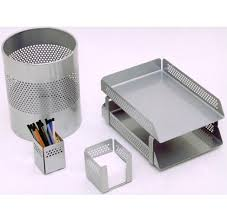Silver Desk Accessories Index Of Catalogueimagesoffice Accessories Silver Desk Printed