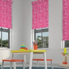 Roller Blind And Cushion Nursery Star Design Roller Shades - Childrens blinds for bedrooms